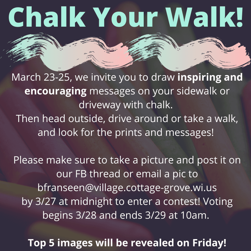 Chalk Your Walk!