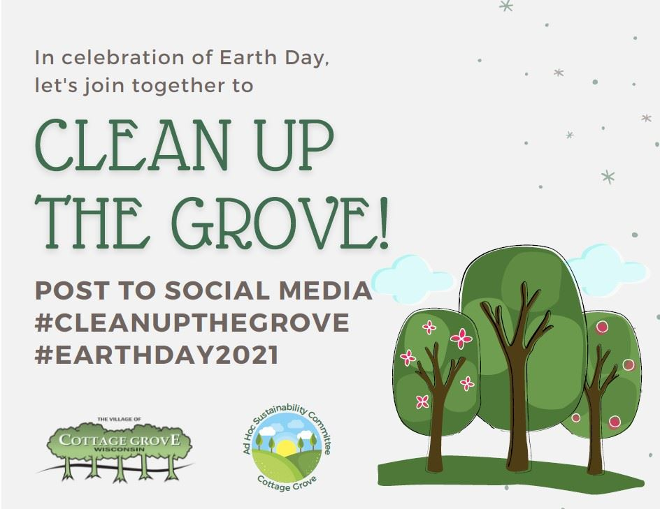 Clean up the Grove - Earth Day clean up project