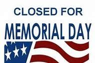 Memorial Day - Office Closed