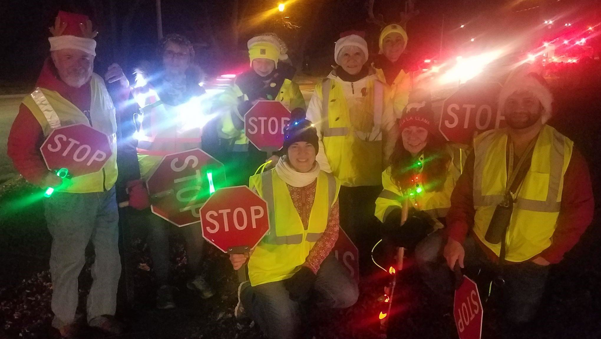 Christmas in the Grove-Crossing Guards